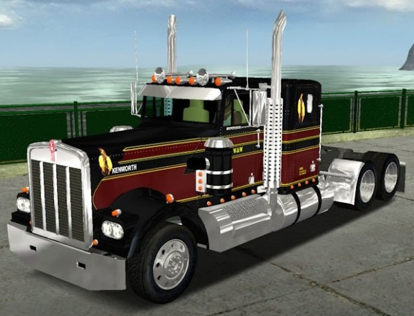 Photo of Kenworth W900A