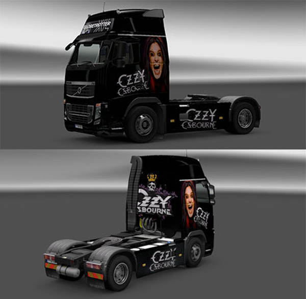Photo of Volvo Ozzy Osbourne skin
