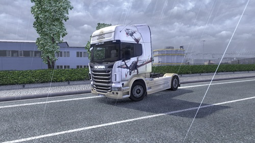 Photo of Scania War Thunder Skin