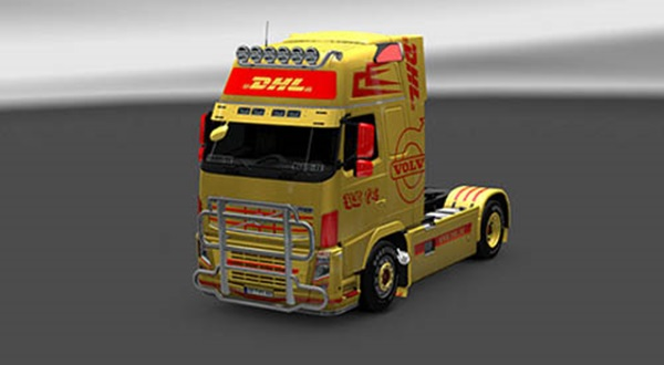 Photo of Volvo DHL Skin