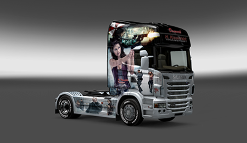 Photo of Scania Resident Evil Skin