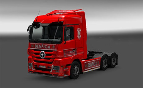 Photo of Mercedes Benz Benfica Simples Skin