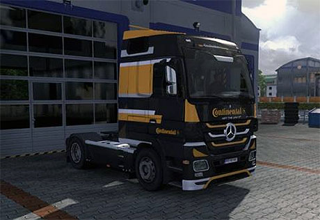 Photo of Mercedes Benz Actros Continental skin