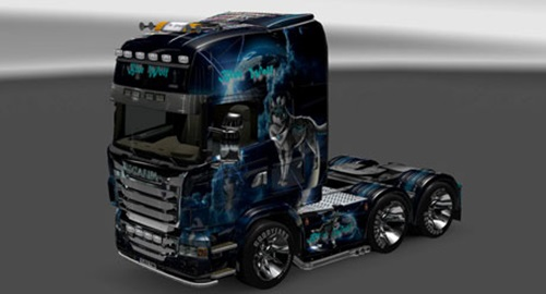Photo of Scania Mavi Kurt Skin