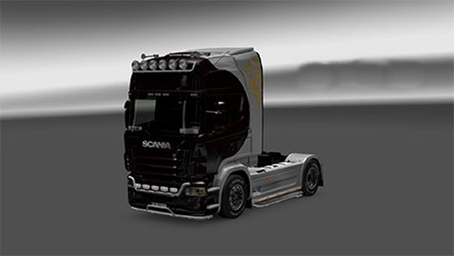 Photo of Scania Tribal Lion Skin