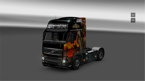 Photo of Volvo FH16 WOW Skin