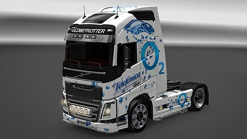 Photo of Volvo FH16 2012 Telefonica Skin