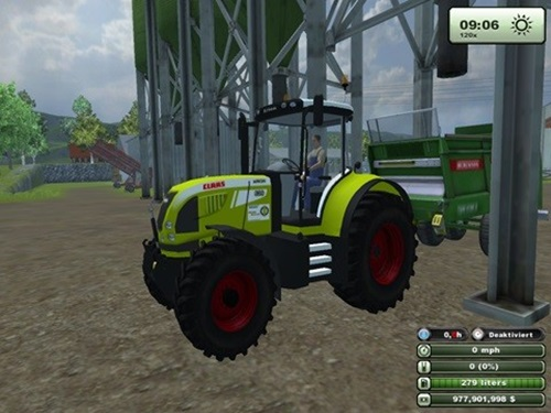 Photo of Claas Arion 520