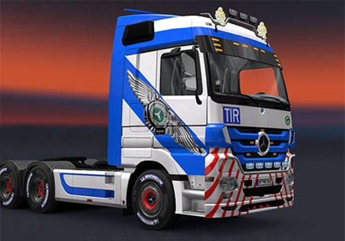 Photo of Mercedes Benz Actros Kartal Skin