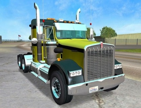 Photo of Kenworth W900b