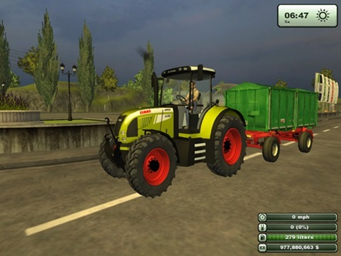 Photo of Claas Arion 640