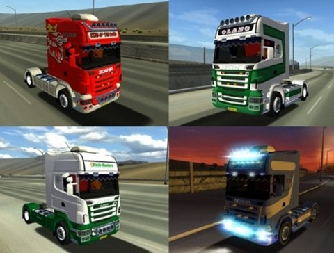 Photo of Scania R580 Skin Paketi