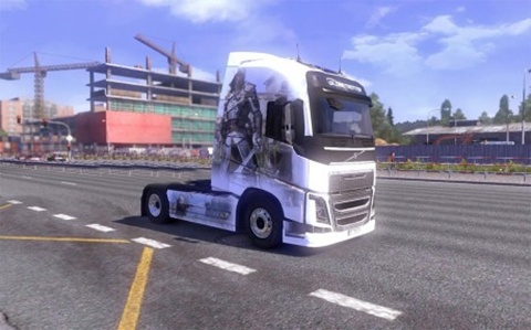 Photo of Volvo FH 2012 Assassin's Creed IV Skin