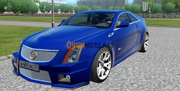 Photo of Cadillac CTS-V Coupe – 1.3.3 City Car Driving
