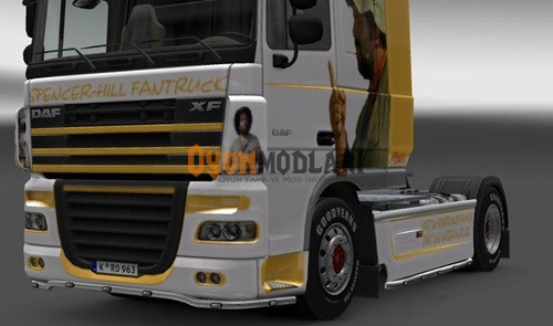 Photo of DAF XF Spencer Hill Skin Euro Truck Simulator 2