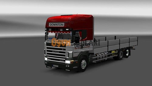 Photo of Scania 4 Downton Tır Skini Euro Truck Simulator 2