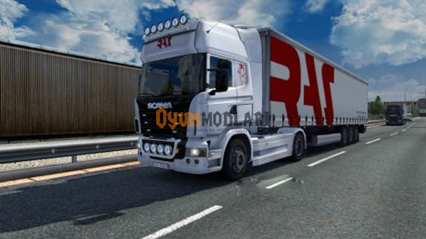 Photo of Scania Ras Skin Paketi Euro Truck Simulator 2