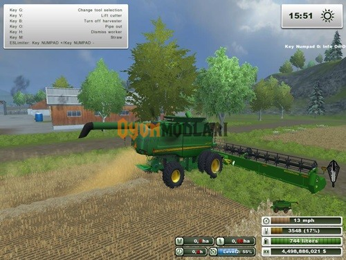 Photo of John Deere 9770STS Farming Simulator 2013