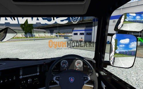 Photo of Scania Streamline Kamera Modu Euro Truck Simulator 2