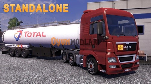 Photo of TOTAL Yakıt Tankeri Euro Truck Simulator 2