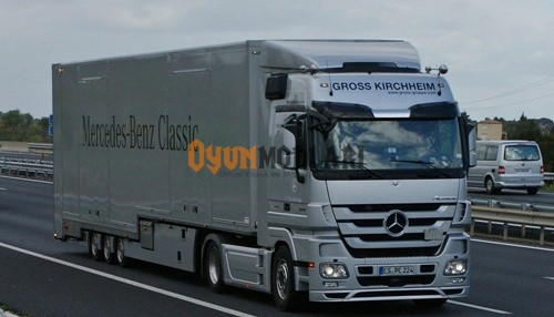 Photo of Mercedes Benz Actros Ses Modu Euro Truck Simulator 2