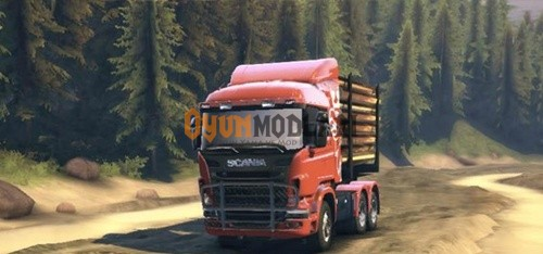SCANIA-logging-truck