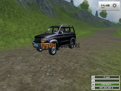 UAZ Patriot Farming Simulator 2013