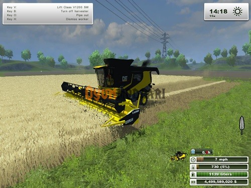 Photo of Claas  Lexion 770 Biçer Döver Paketi Farming Simulator 2013