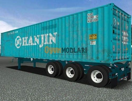 Photo of Gerçekçi Intermodal Konteyner Dorse Modu Euro Truck Simulator 2