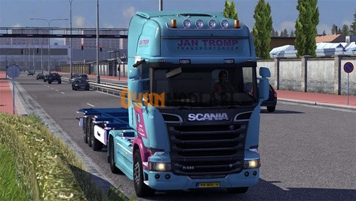 Photo of Scania Streamline Jan Tromp Skin Euro Truck Simulator 2