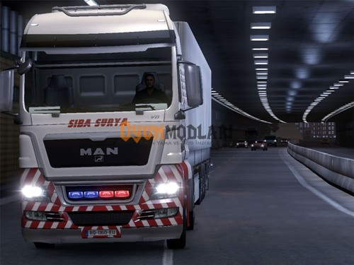 Photo of MAN Siba Surya Tır Skini Euro Truck Simulator 2