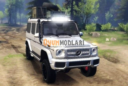 Photo of Mercedes Benz G65 SpinTires