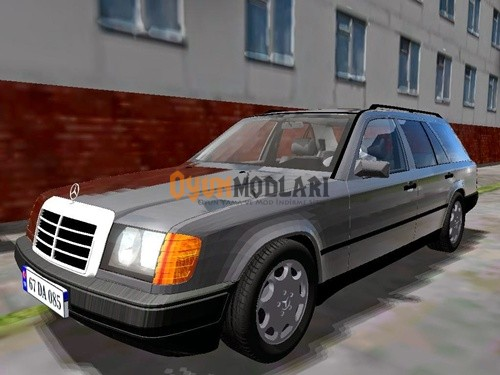 Photo of Mercedes-Benz W124 SW – 1.3.3 – City Car Driving