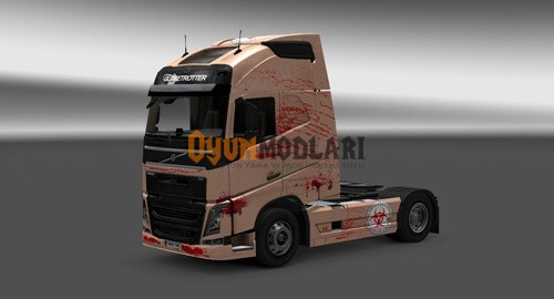 Photo of Volvo FH 2012 Kan Tır Skini – Euro Truck Simulator 2