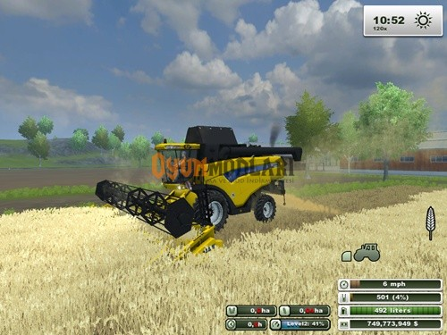 Photo of New Holland CX 8090 Biçer Döver – Farming Simulator 2013