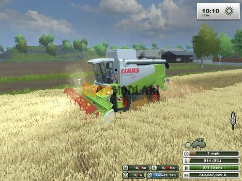 Photo of Class Lexion 460 Biçer Döver – Farming Simulator 2013