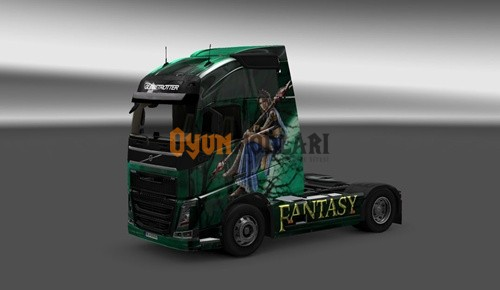 Photo of Volvo FH Fantasy Tır Skini – Euro Truck Simulator 2
