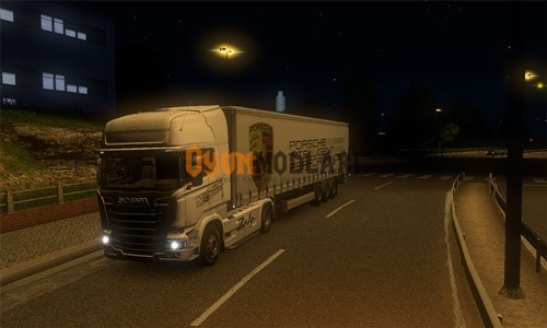Photo of Scania Streamline 24 Of Lemans Tır + Dorse Skin Paketi – Euro Truck Simulator 2