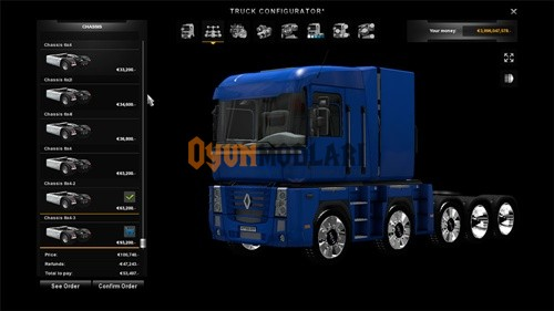 Photo of Renault Magnum Şasi Paketi – Euro Truck Simulator 2