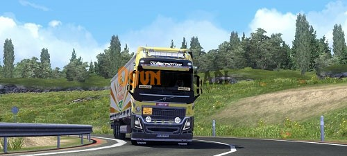 Photo of Volvo Line Tır Skini – Euro Truck Simulator 2