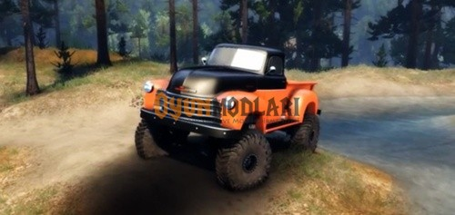 Photo of Chevrolet 3100 Pickup UMT 195 – Spin Tires