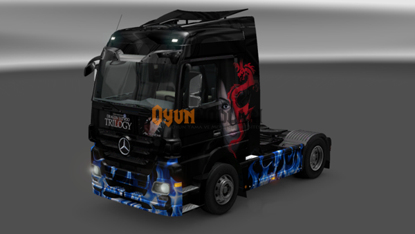 Photo of Mercedes Benz Actros Millenium Trilogy Tır Skini – Euro Truck Simulator 2