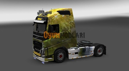 Photo of Volvo FH 2012 Doğa Tır Skini – Euro Truck Simulator 2