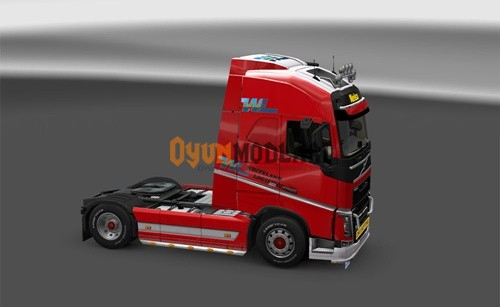 Photo of Volvo FH Whiteland Tır Skini – Euro Truck Simulator 2