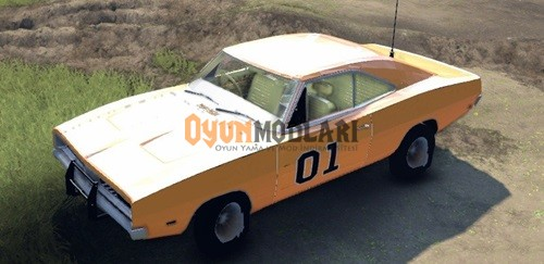 Photo of Dodge Charger General Lee Araba Modu – Spin Tires