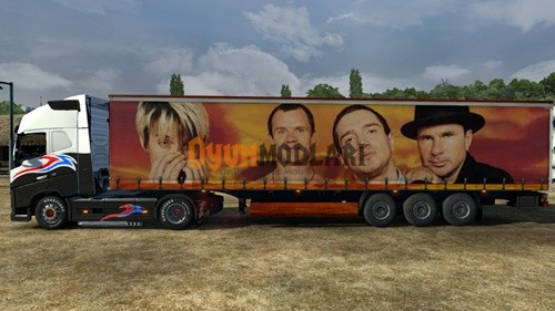 Photo of Red Hot Chili Peppers Transport Dorse – Euro Truck Simulator 2