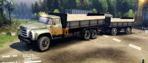 Photo of ZIL-133 Kamyon – Spin Tires