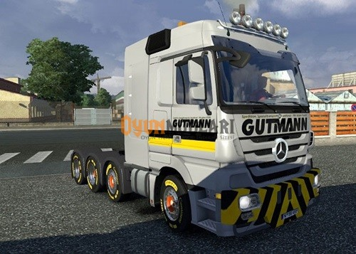 Photo of Mercedes Benz Actros 8×4 + Gutmann Pack – Euro Truck Simulator 2