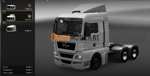 Photo of Man TGX Beyaz Kamyon – Euro Truck Simulator 2