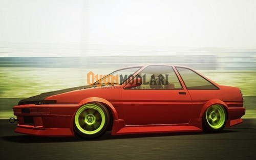 Photo of Live For Speed – Toyota AE86 Araba Yaması